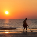 Metal Detector Discovers Gold